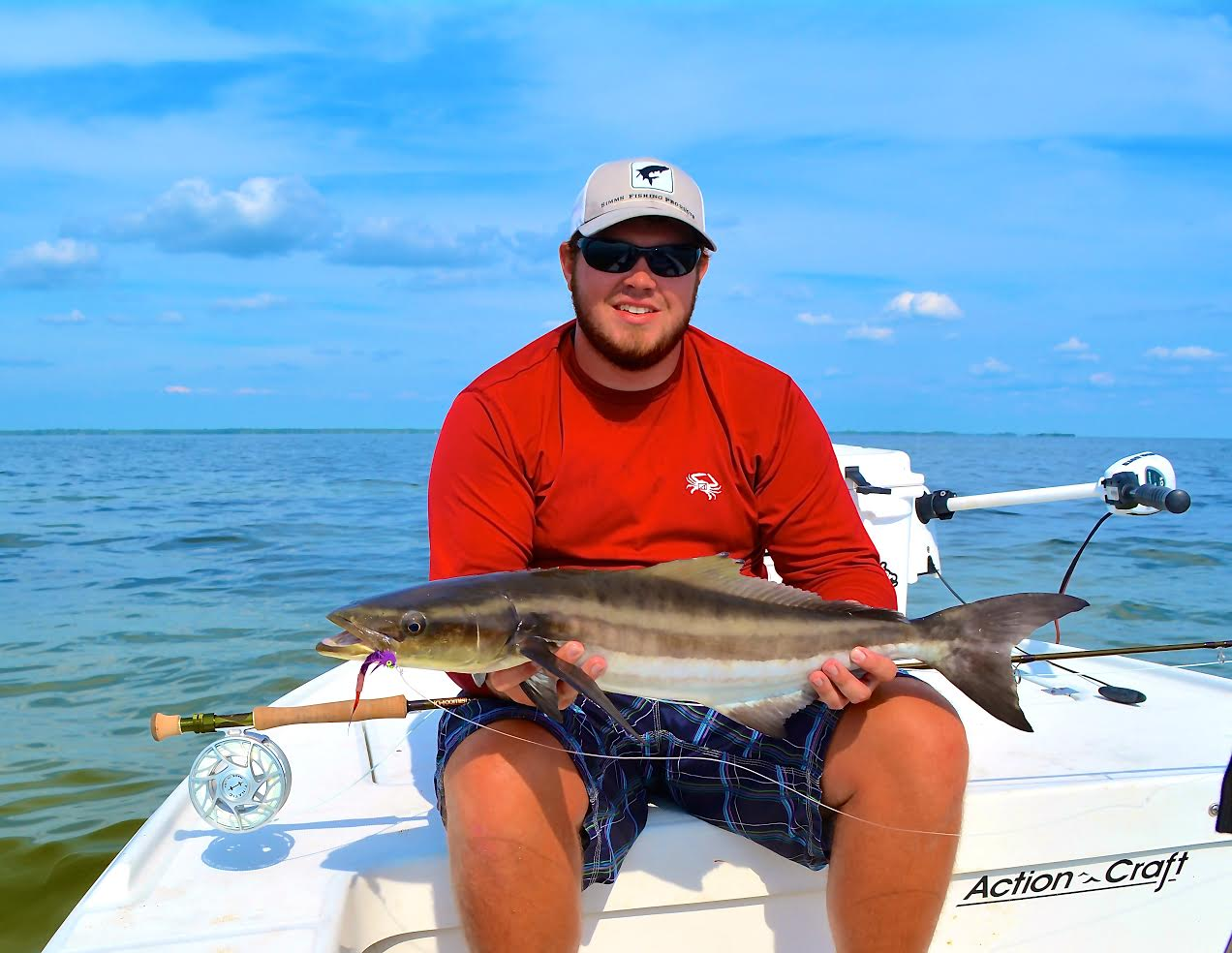 Salty action charters fishing fly fishing captain for Steinhatchee fl fishing